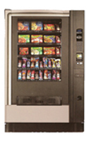 Frozen food vending machines in Jackson